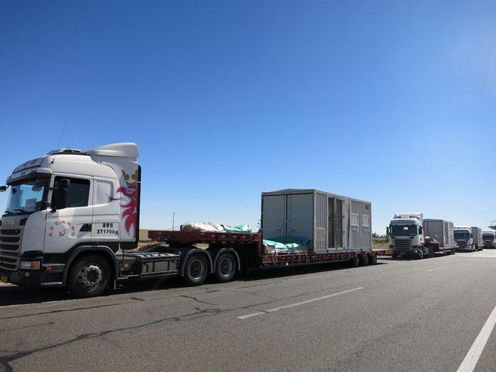 气垫大件运输车辆